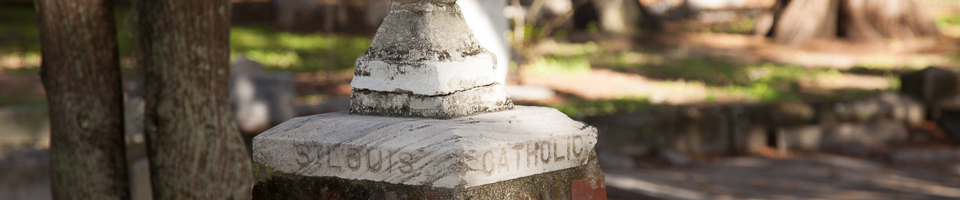 Friends of St  Louis Cemetery | Sacred Heart Catholic Church